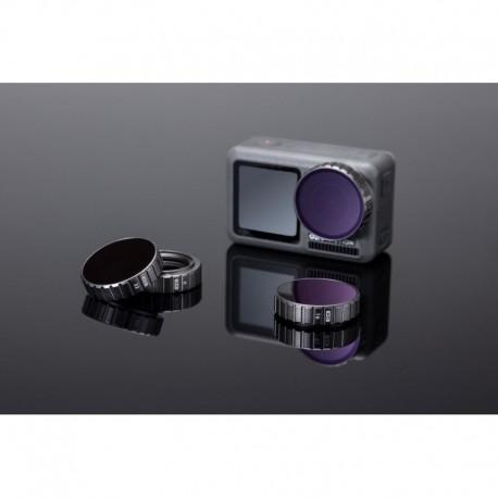 Zestaw filtrów ND DJI Osmo Action (ND4/ND8/ND16/ND32)