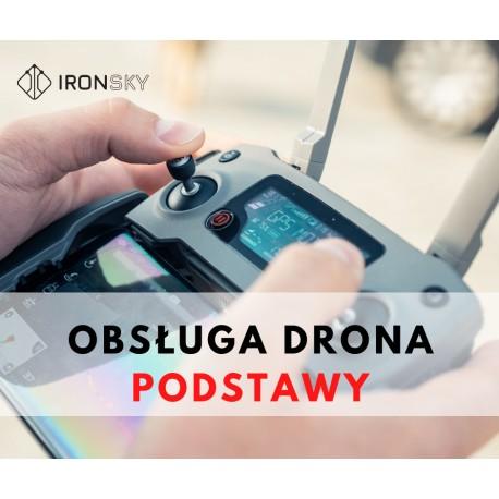 Podstawowy kurs z obsługi drona dla początkujących i dla dzieci