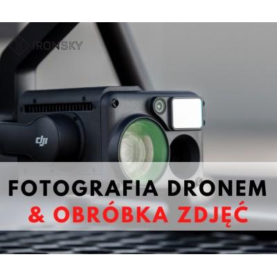 FOTOGRAFIA Z DRONA I OBRÓBKA ZDJĘĆ