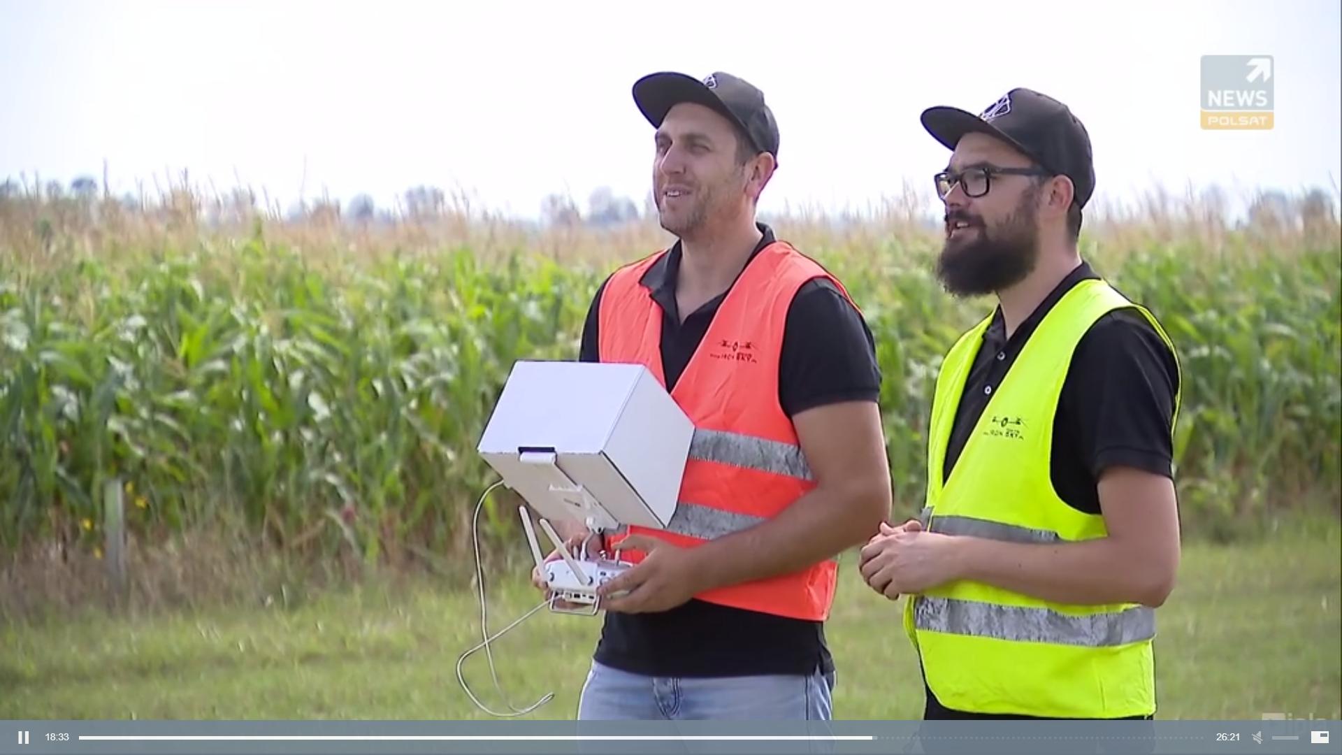 Instruktorzy UAVO IRONSKY certyfikowani piloci drona