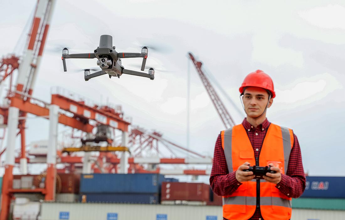 dron do energetyki