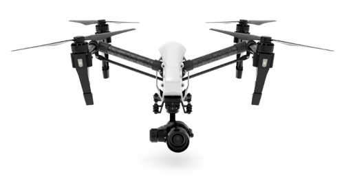 Filmowanie dronem DJI Inspire