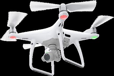 Filmowanie z drona DJI Phantom 4 PRO