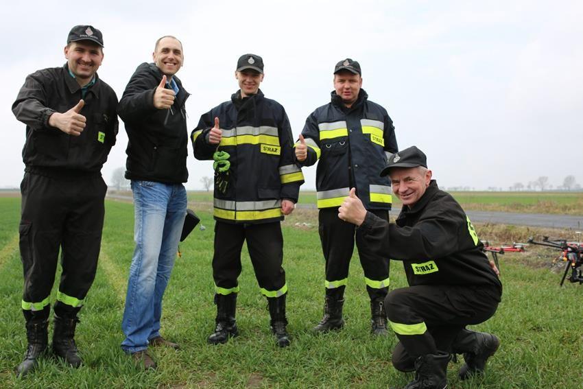 Szkolenie UAVO dla Straży Pożarnej