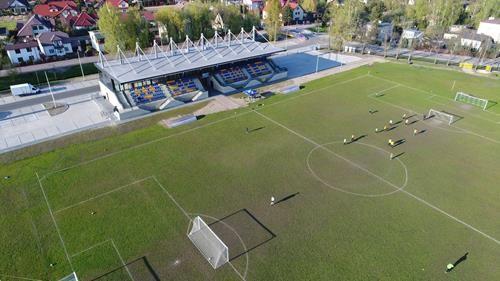 ujęcia z drona - wydarzenia sportowe