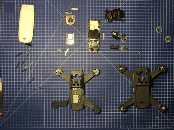 Serwis Dronów DJI Spark wymiana płyty głównej ESC