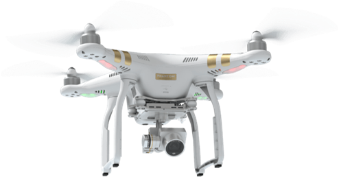Zdjęcia z drona DJI Phantom 3 PRO