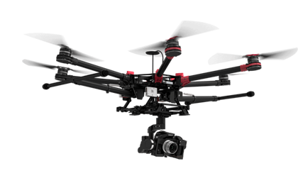 Filmy z drona DJI S9000