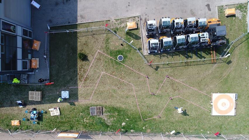 IRONSKY.PL Tor przeszkód do lotu dronem