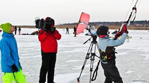 Szkolenie Snowkite TVN