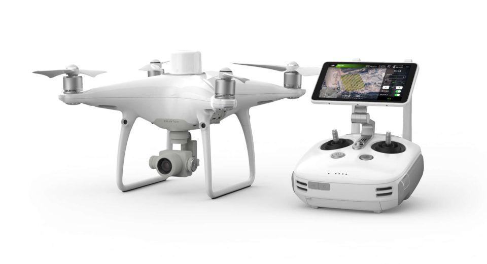 Nowy Dron do geodezji DJI Phantom 4 RTK do kupienia w sklepie z dronami IRON SKY tel 663 944 151 - Autoryzowany Sprzedawca DJI www ironsky pl