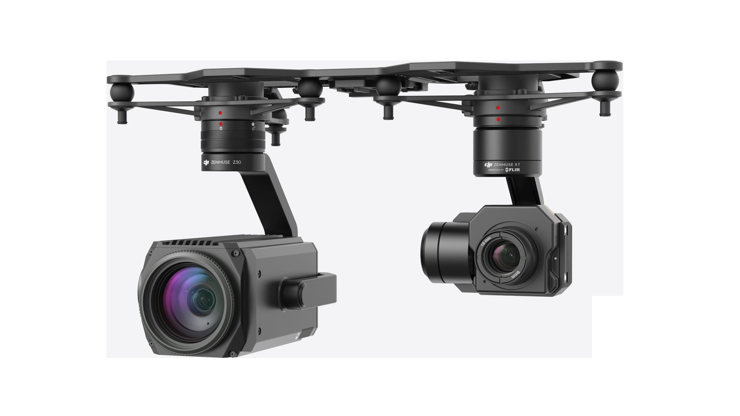 Podwójny gimbal do drona DJI MATRICE 210 dostępny w autoryzowanym dji sklepie iron sky tel 663 944 151