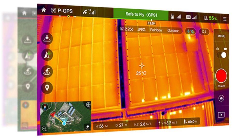 kamera termowizja DJI dron Zenmuse_xt_iron_sky_pl