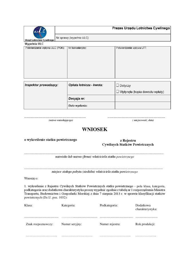 Wniosek_o_wykreślenie_BSP_UAV_Drona_z_ewidencji_rejestru_ULC_BVLOS_IRONSKY_IRON_SKY