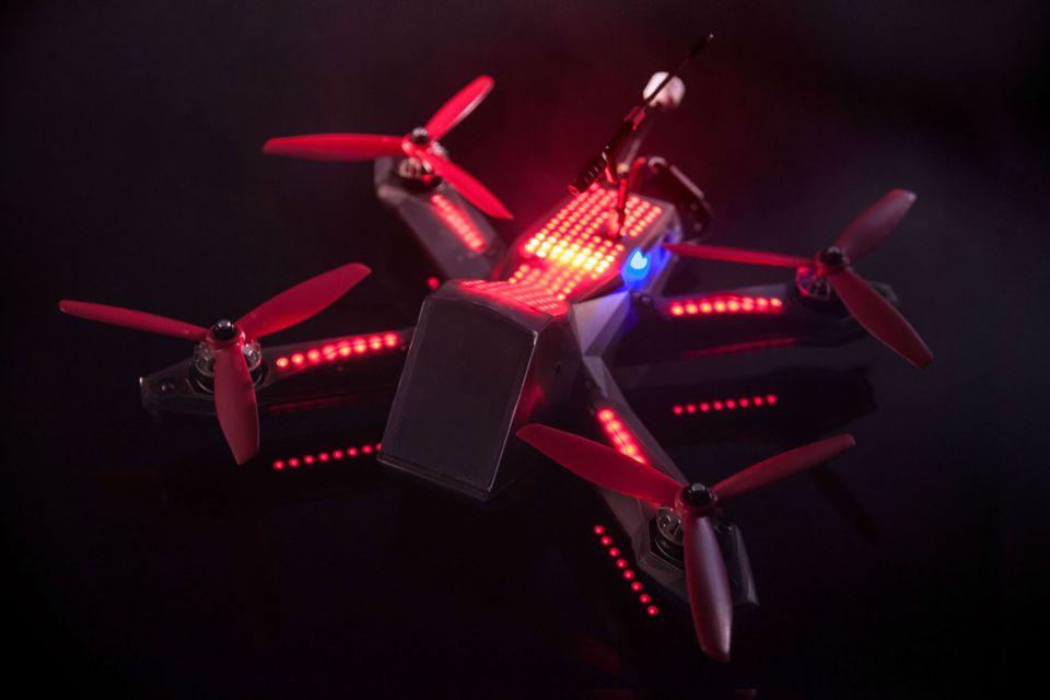 DRL Drone Racing IRONSKY Team FPV wyścigi dronów