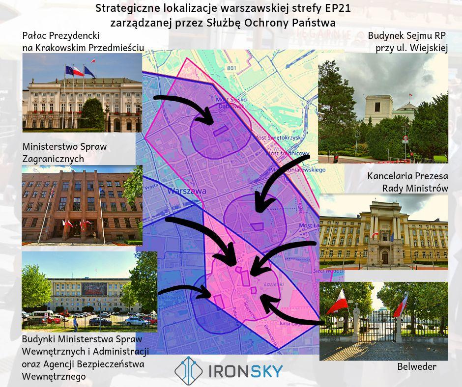 EP21 nowa strefa ważna dla dronów w Warszawie IRON SKY Blog o dronach