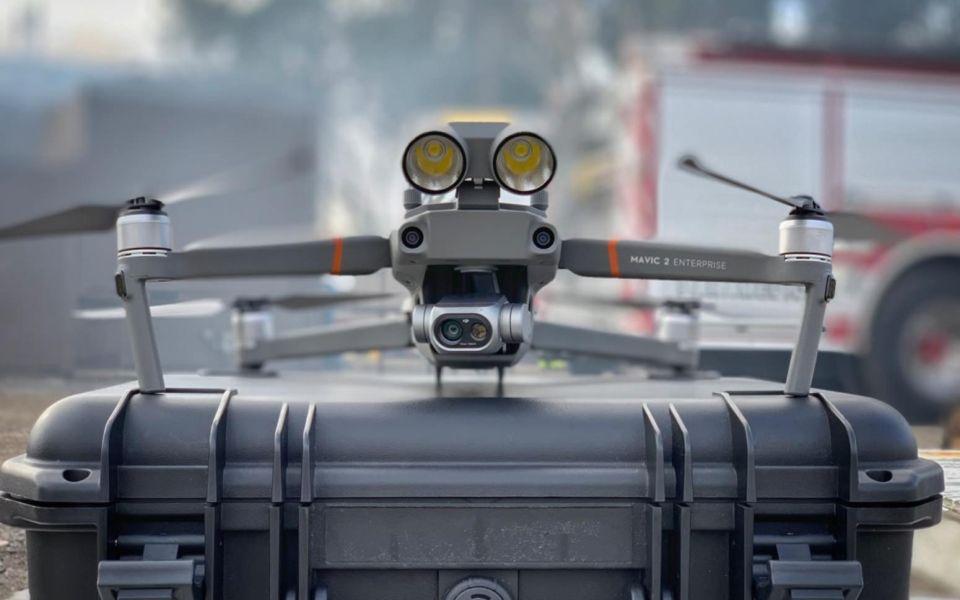IRONSKY specjalista ekspert dronowy w dostawach dronów dla OSP PSP Państwowej i Ochotniczej Straży Pożarnej autoryzowany dealer DJI YUNEEC