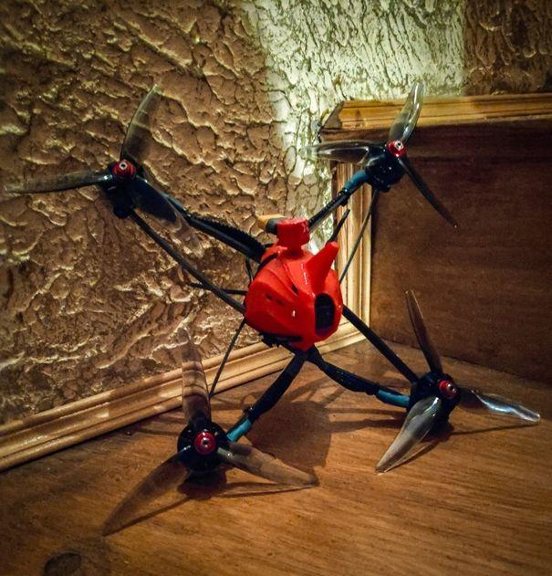 Drone Racing IRONSKY Team FPV wyścigi dronów