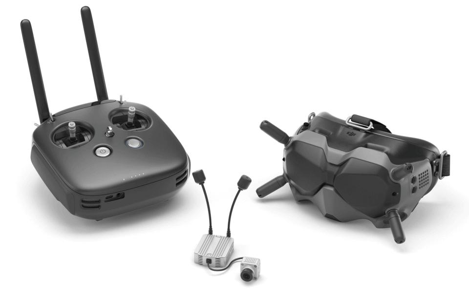 DJI FPV gogle do lotów dronami wyścigowymi