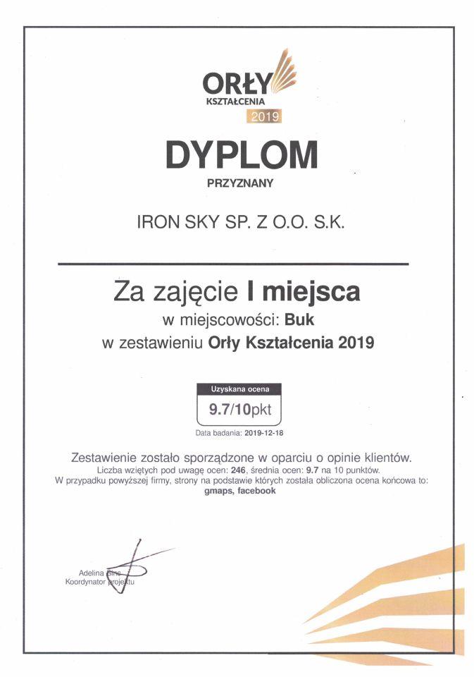 ironsky-nagroda-najlepsze-szkolenia-drony-orly-ksztalcenia-operator-drona