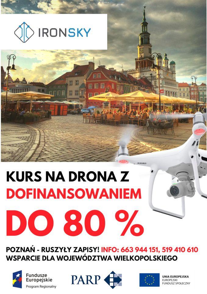 Poznań-kurs-na-operatora-drona-dofinansowaniem-z-Unii-Europejskiej