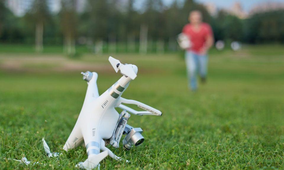 Wypadek drona ucieczka drona jak zgłosić