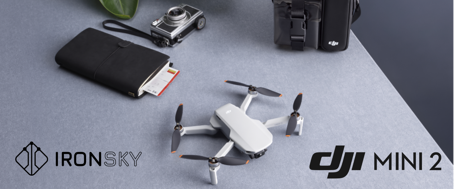 Mały dron na każdą kieszeń, DJI Mini 2 - mały ale wariat