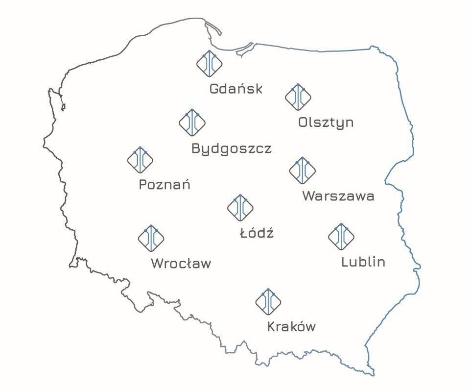 Mapa-zakres-dzialalnosci-firmy-IRONSKY-dziala-i-szkoli-calej-Polsce