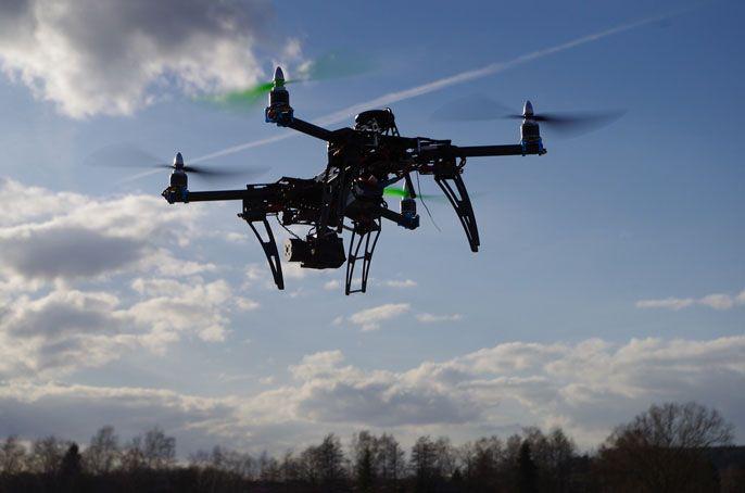 Drony i szkolenia na drona - RATY