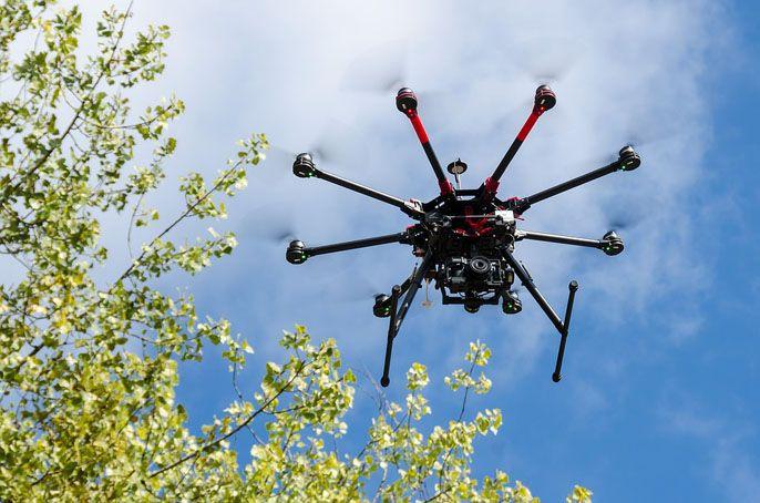 Panoramy sferyczne 360 z drona