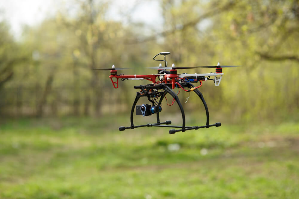 Drony dla naukowców i instytutów badawczych